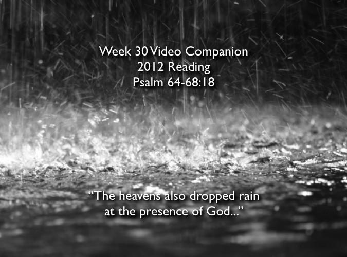 Week 30 Companion 2012