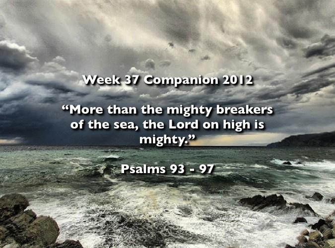 Week 37 Companion 2012