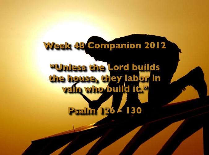 Week 48 Companion 2012