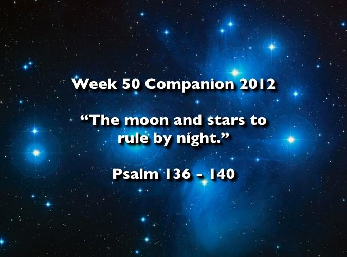 Week 50 Companion 2012