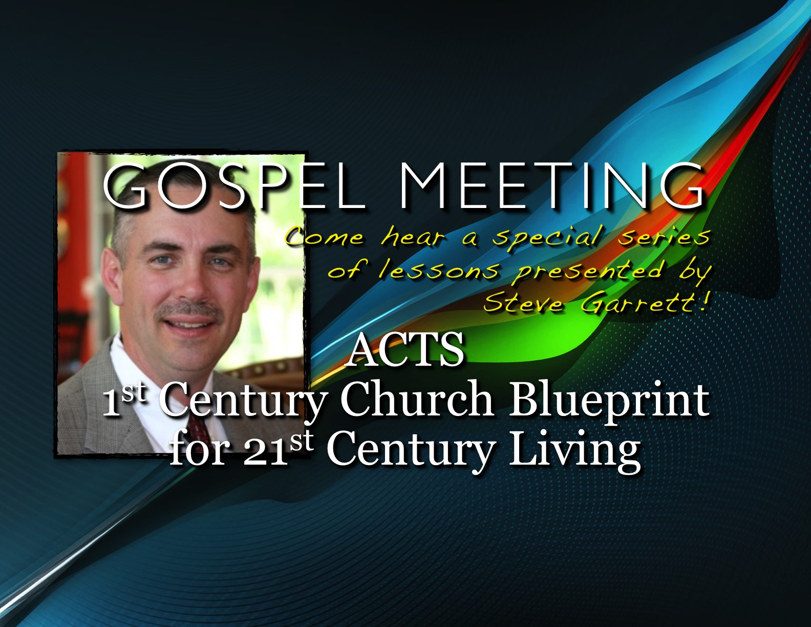 Spring 2013 Meeting With Steve Garrett