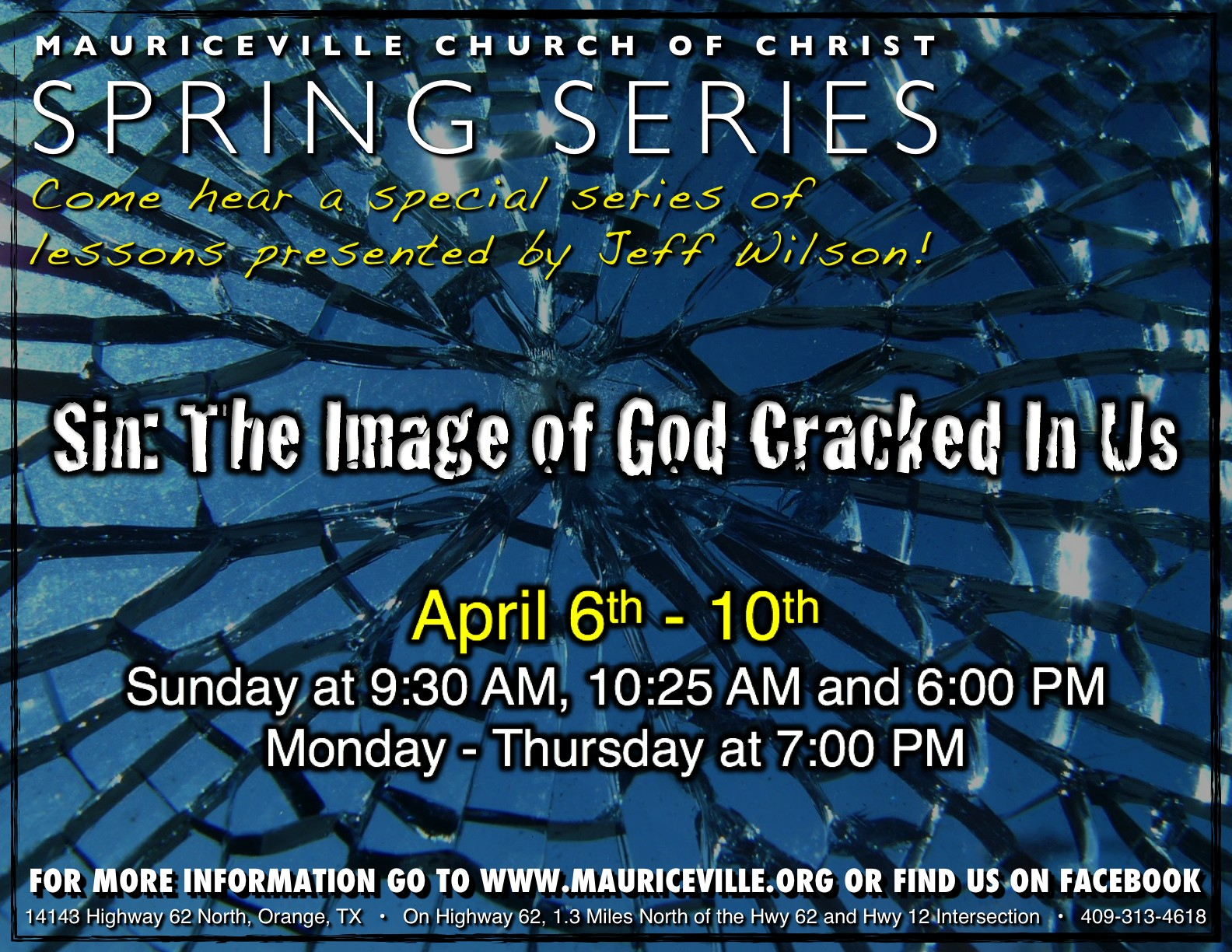 Spring Series 2014 with Jeff Wilson