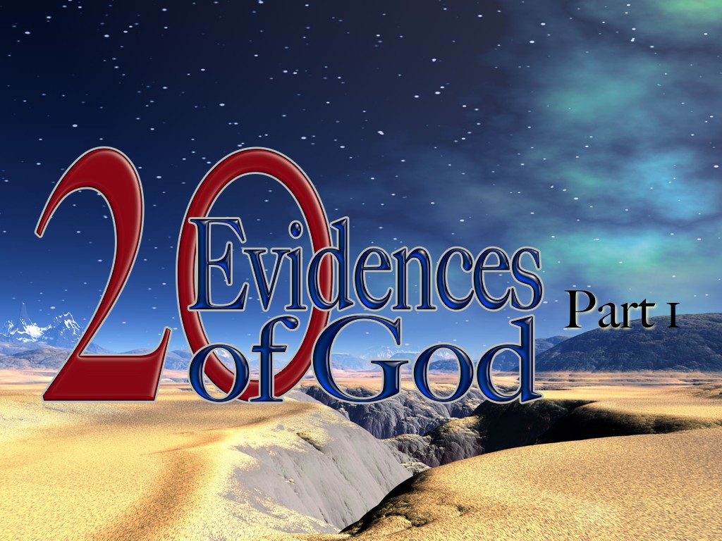 20 Proofs of God Part 1