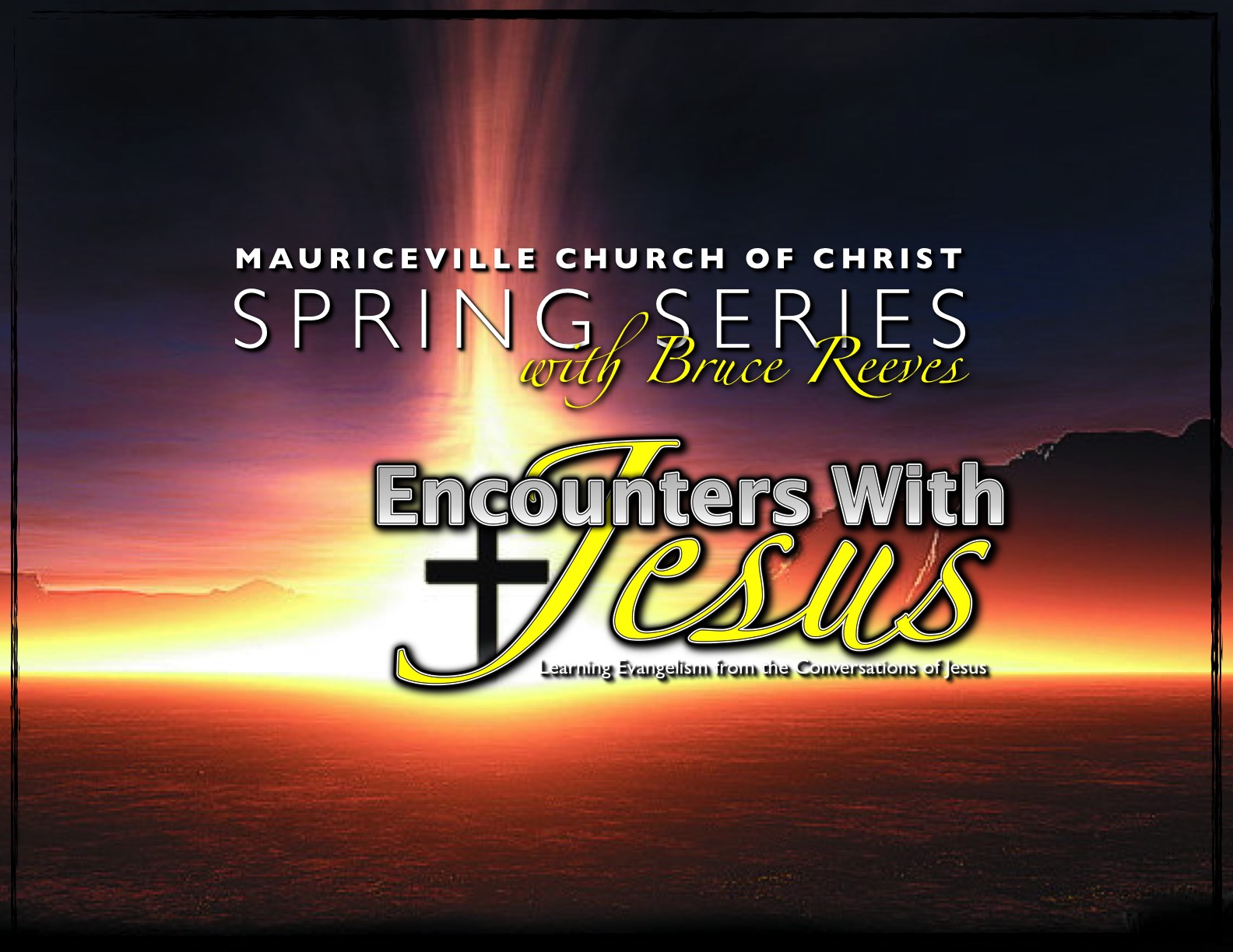 2015 Spring Meeting with Bruce Reeves