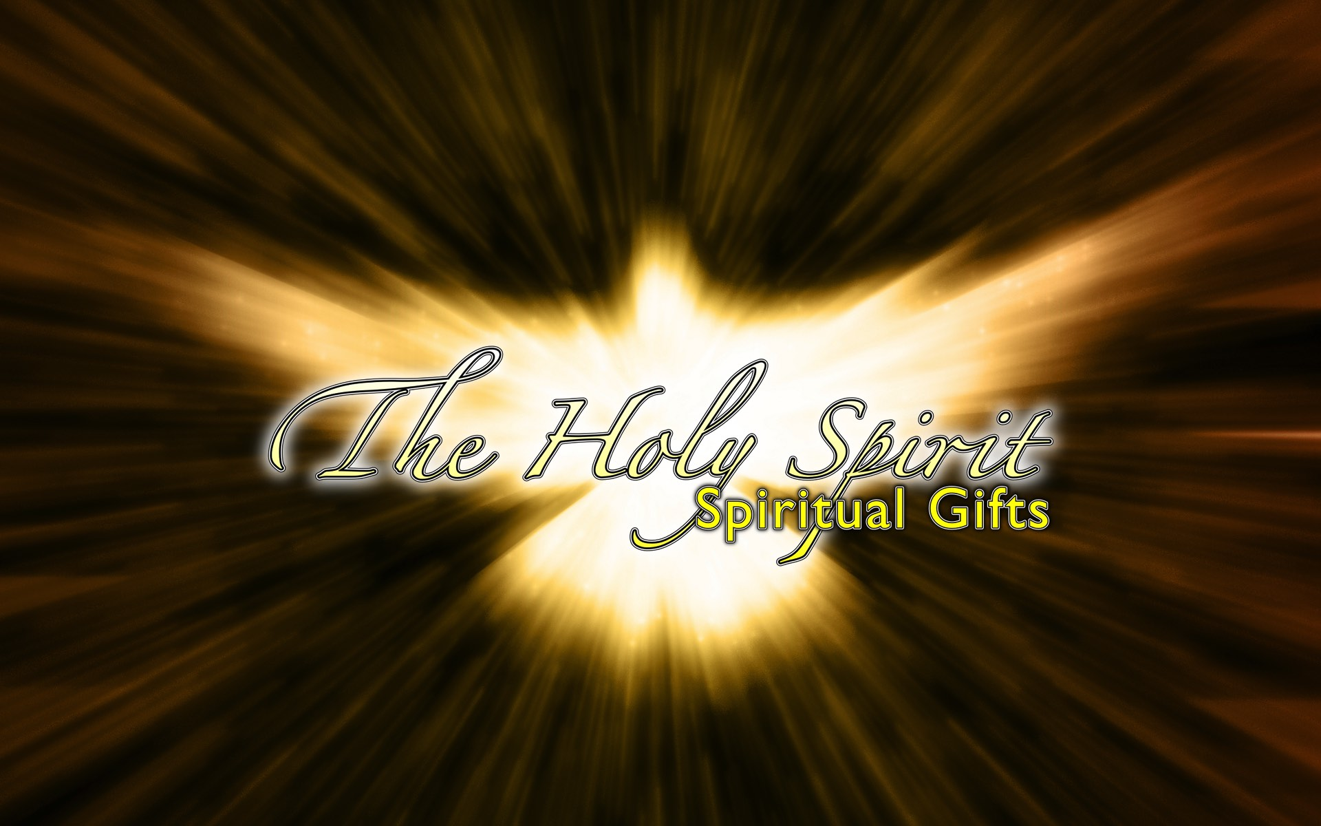 The Holy Spirit – Spiritual Gifts