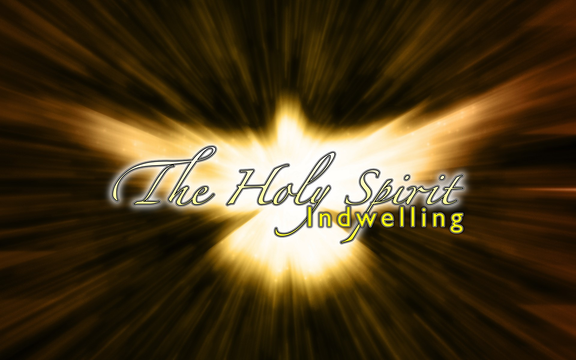 The Holy Spirit – Indwelling