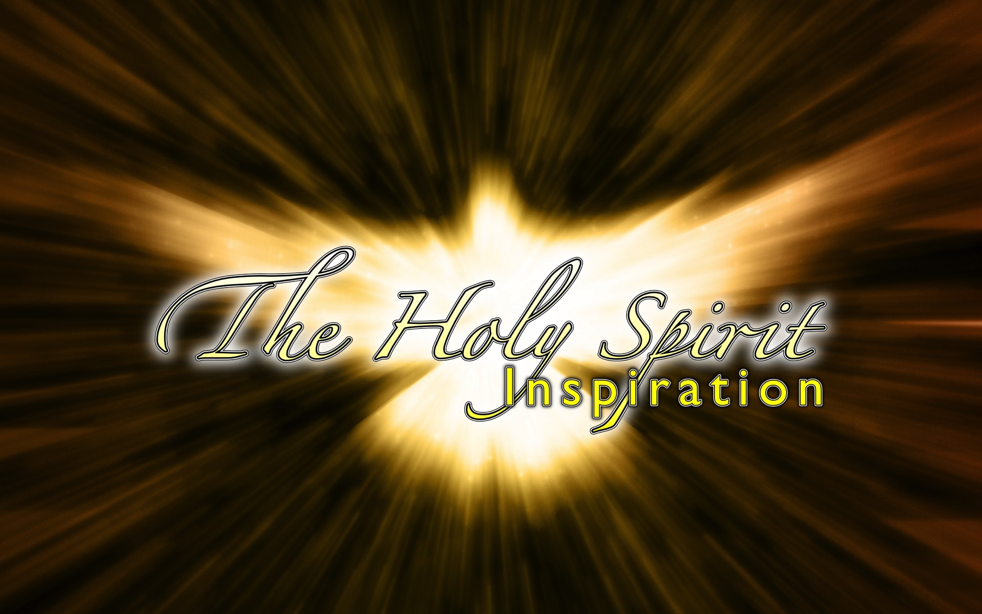 The Holy Spirit – Inspiration