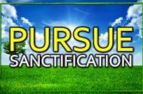 Pursue Sanctification