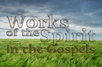 The Works of the Spirit in the Gospels