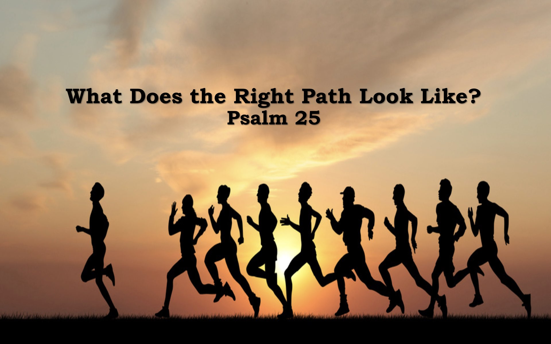 What Does the Right Path Look Like?