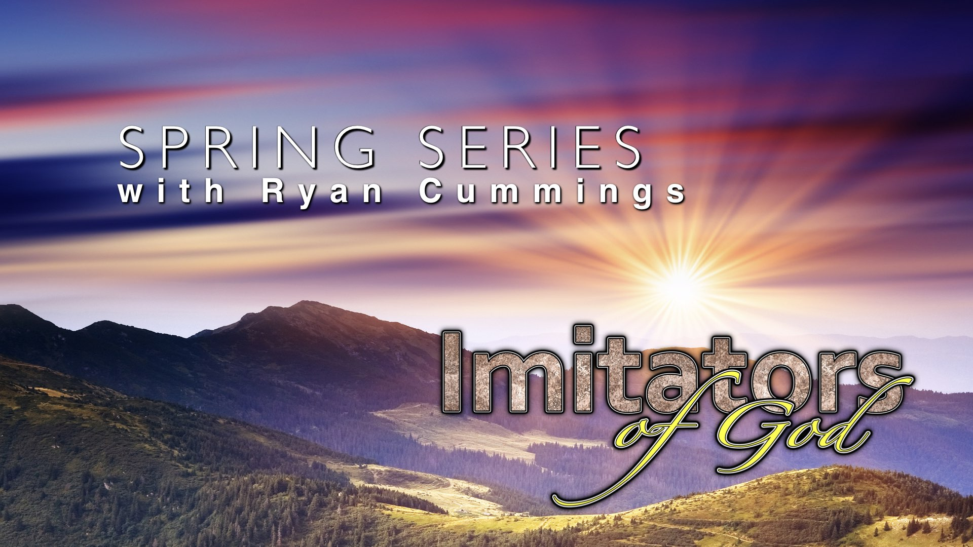 Spring Series with Ryan Cummings