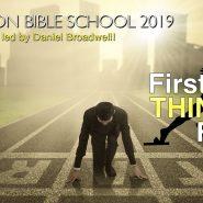 Vacation Bible School 2019 with Daniel Broadwell