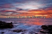 Lessons From The Directory