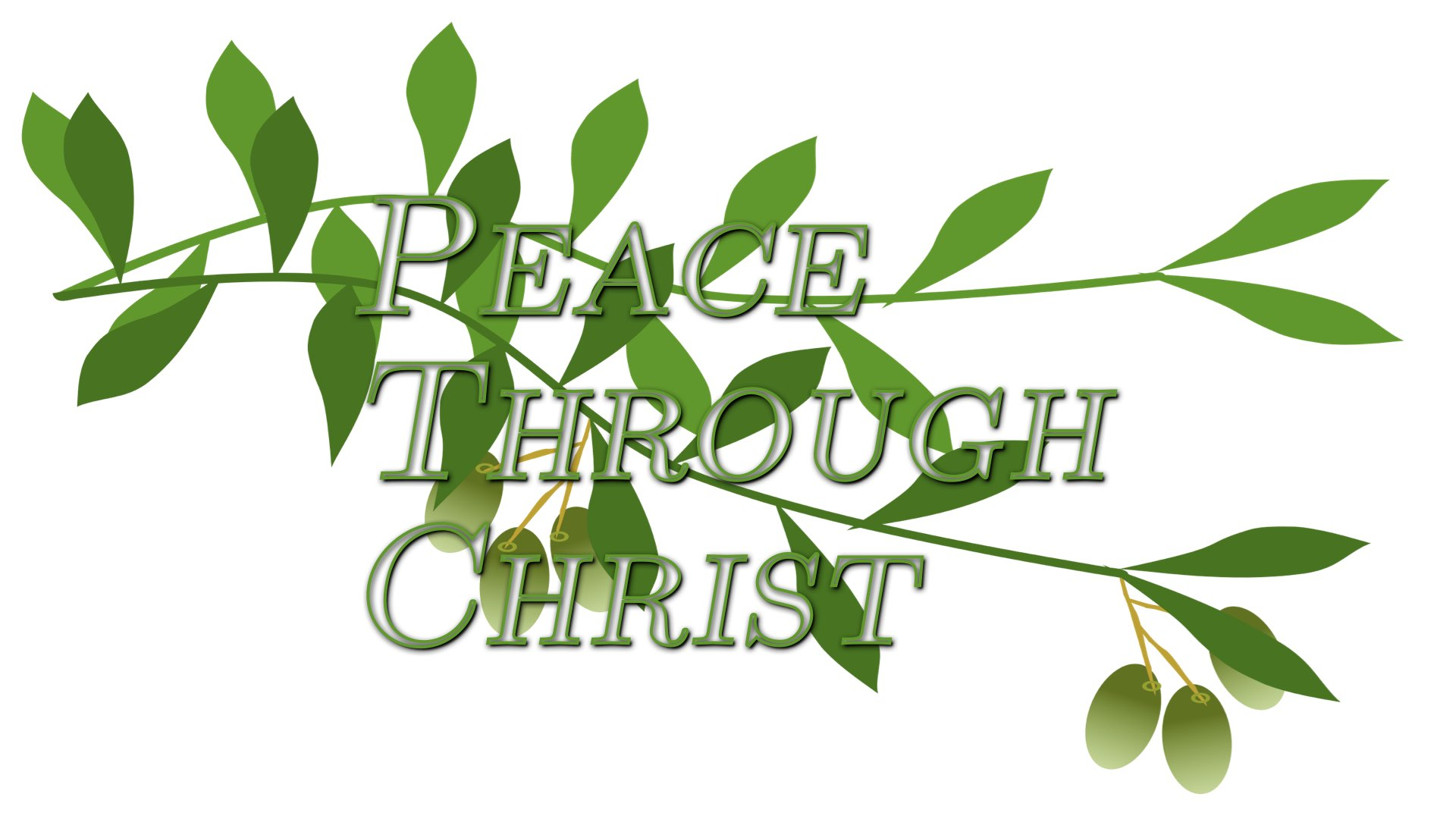 Peace Through Christ