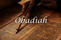 Obadiah – The Word of God to Edom