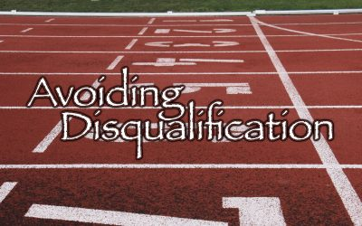 Avoiding Disqualification