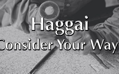 Haggai Consider Your Ways