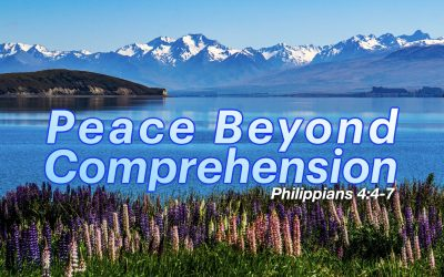 Peace Beyond Comprehension