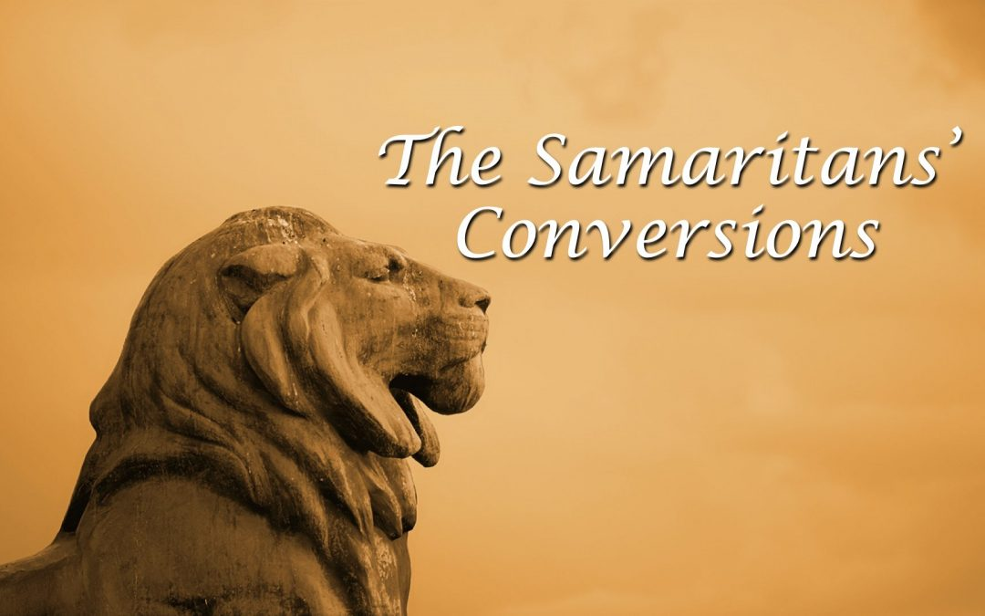 The Samaritans Conversions